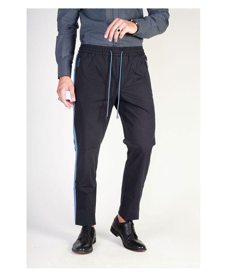 Pantalone uomo  DOLCE&GABBANA G681AT Nero - Primavera Estate - titalol