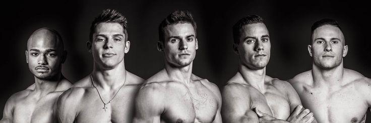2016 U.S. Men's Gymnastic Team - John Orozco, Chris Brooks, Jacob Dalton, Sam Mikulak, & Alex Naddour.