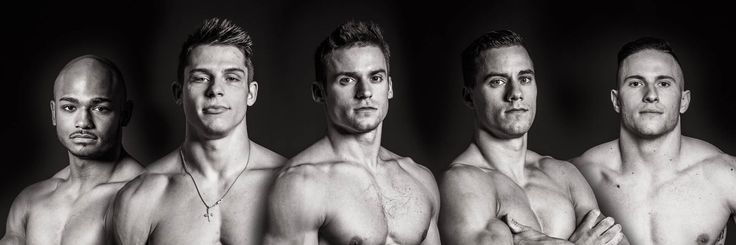 2016 U.S. Men's Gymnastic Team - John Orozco, Chris Brooks, Jacob Dalton, Sam Mikulak, & Alex Naddour.