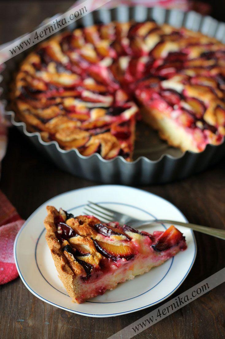 Среда - десерт: Страсбургский пирог со сливами