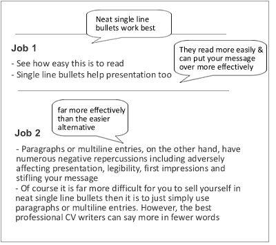 CV Succeed Tutorials: - Tips on spacing on a CV