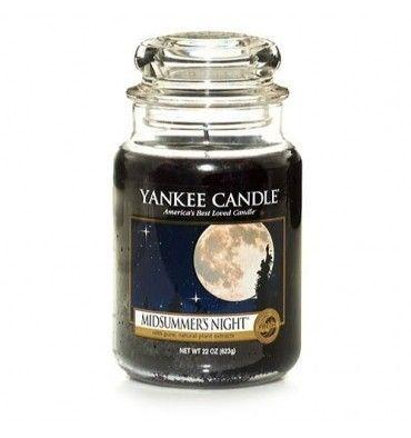 Yankee Candle ŚWIECA W SŁOIKU DUŻA Midsummer's Night | DOMOWE SPA \ świeczki zapachowe \ Yankee Candle \ świece w słoikach DOMOWE SPA \ ŚWIECZKI ZAPACHOWE I WOSKI \ YANKEE CANDLE \ świece w słoikach | Minti Shop