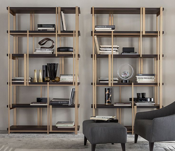 MONDRIAN bookshelves designed by Massimiliano Raggi architetto for CASAMILANO