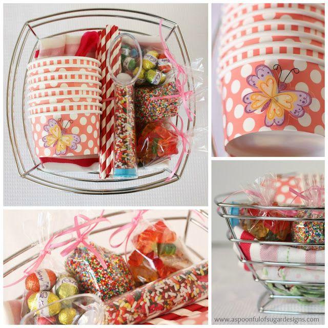 Ice-Cream Sundae Kit - Gift Ideas | A Spoonful of Sugar