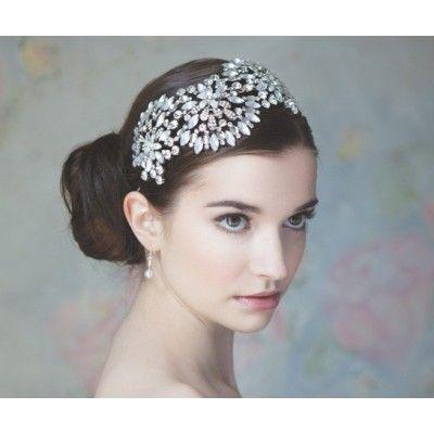 Anemone ~ 1920's Inspired Diamanté Statement Bridal Headdress