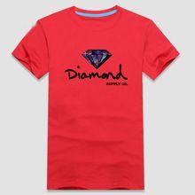 Yüksek kalite 100% saf pamuk kısa kollu baskı elmas erkekler t-shirt yaz Harajuku kpop nefes Tee büyük boy 4XL 5XL 6XL(China (Mainland))