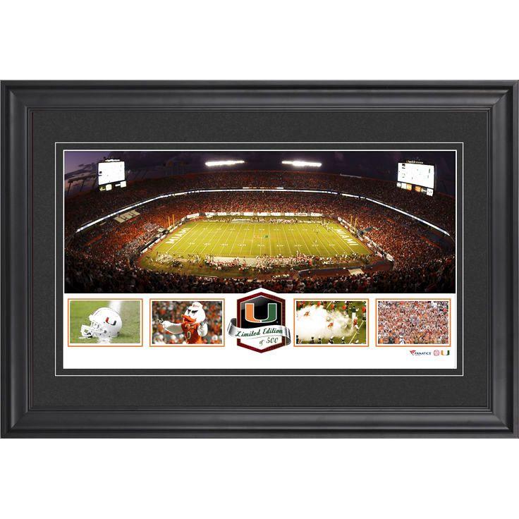 Miami Hurricanes Fanatics Authentic Framed Sun Life Stadium Panoramic Collage-Limited Edition of 500 - $63.99