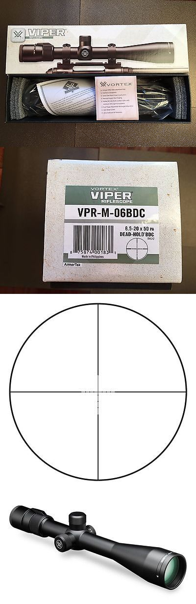 Rifle Scopes 31714: New Vortex Viper 6.5-20X50 Pa Scope Matte Dead Hold Bdc 30Mm Vpr-M-06Bdc -> BUY IT NOW ONLY: $390 on eBay!