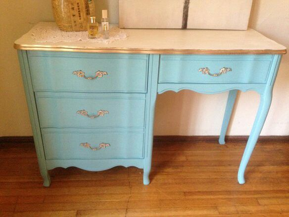 Photo only - repaint desk inspiration