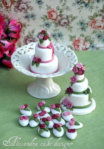 Wedding Mini Cakes