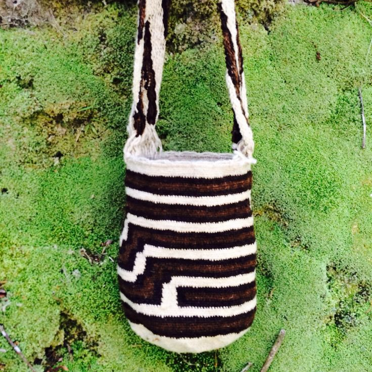 Organic Arhuaca Mochila- Small; Thick Strap