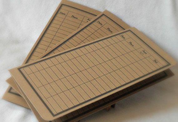 Ledger Card Holder : Kraft money envelope debit card balance tracker receipt