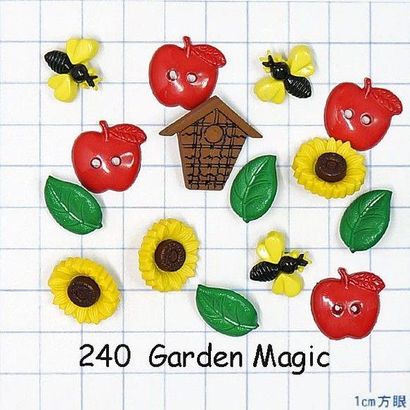 アメリカで販売されている『Favorite Findings』シリーズのボタンです。・バードハウス、はち×3、りんご×4、花(ヒマワリ...|ハンドメイド、手作り、手仕事品の通販・販売・購入ならCreema。