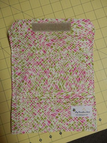 Using Pre-Quilted Fabric for a Purse