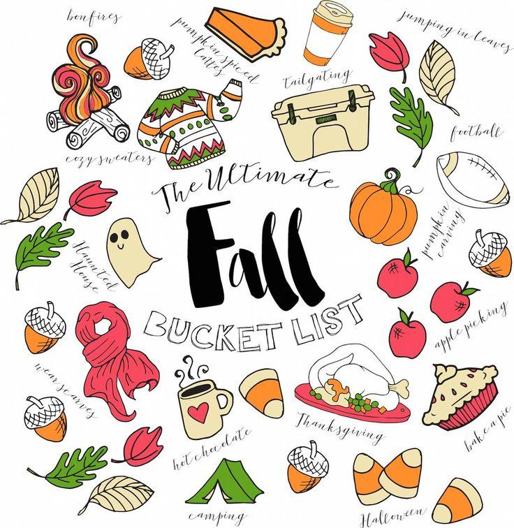 'Fall Bucket List' Comfort Colors Long Sleeve – United