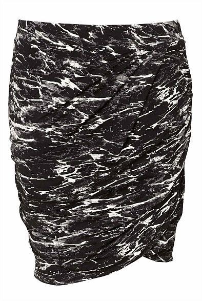 #witcherywishlist Twist Jersey Skirt