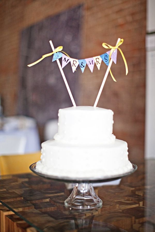 bunting wedding cake topper 27 best images about banner cake toppers on 12226