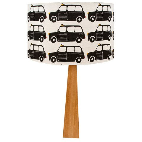 London Black Cab Table Lamp handmade by Hunkydory Home