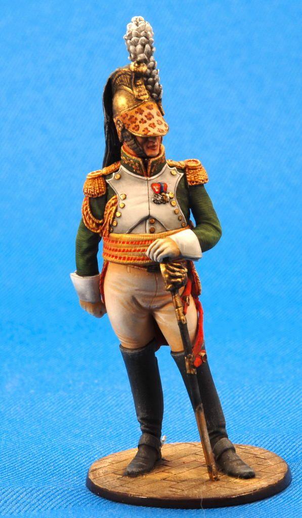 Французский генерал-драгун - 1812-15 гг  ММС