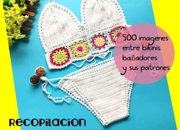 500 imagenes ideas de ropa de playa y sus patrones crochet
