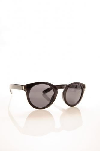 Round Frame Acetate Sunglasses BLUE