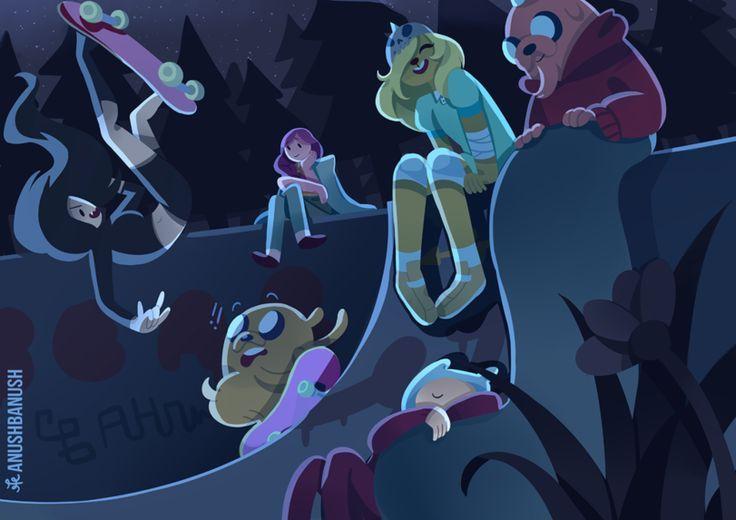 adventure time,время приключений,фэндомы,anushbanush,Fern (AT),Finn the human,jake the dog,Princess Bubblegum,Бубльгум - Принцесса конфетного королевства, бубльгум, принцесса бубльгум,Marceline,Марселин - Королева Вампиров, Марселин,Bronwyn,Doctor Minerva