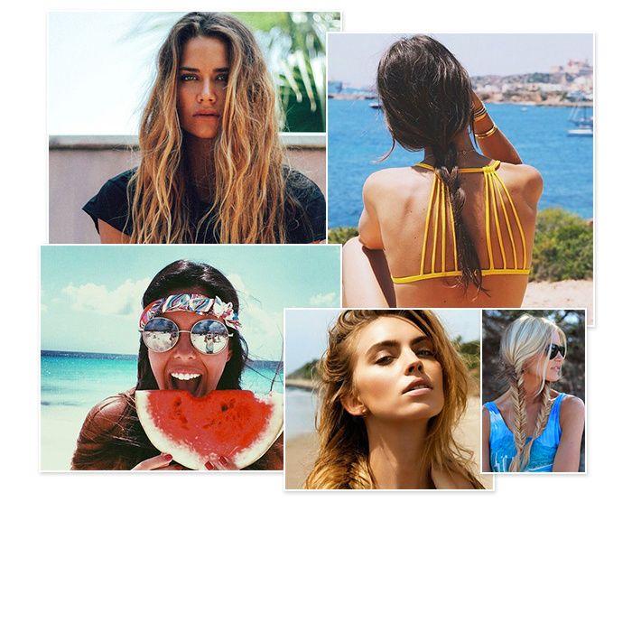 Entre le soleil, la plage, le vent et l'eau, l'été et surtout les vacances nous entraînent à tester de nouvelles coiffures. Mais c'est aussi et surtout l'occasion de nous renouveler ! On vous propose aujourd'hui 35 idées de coiffures faciles et sublimes repérées sur Pinterest pour vous aider à trouver l'inspiration.