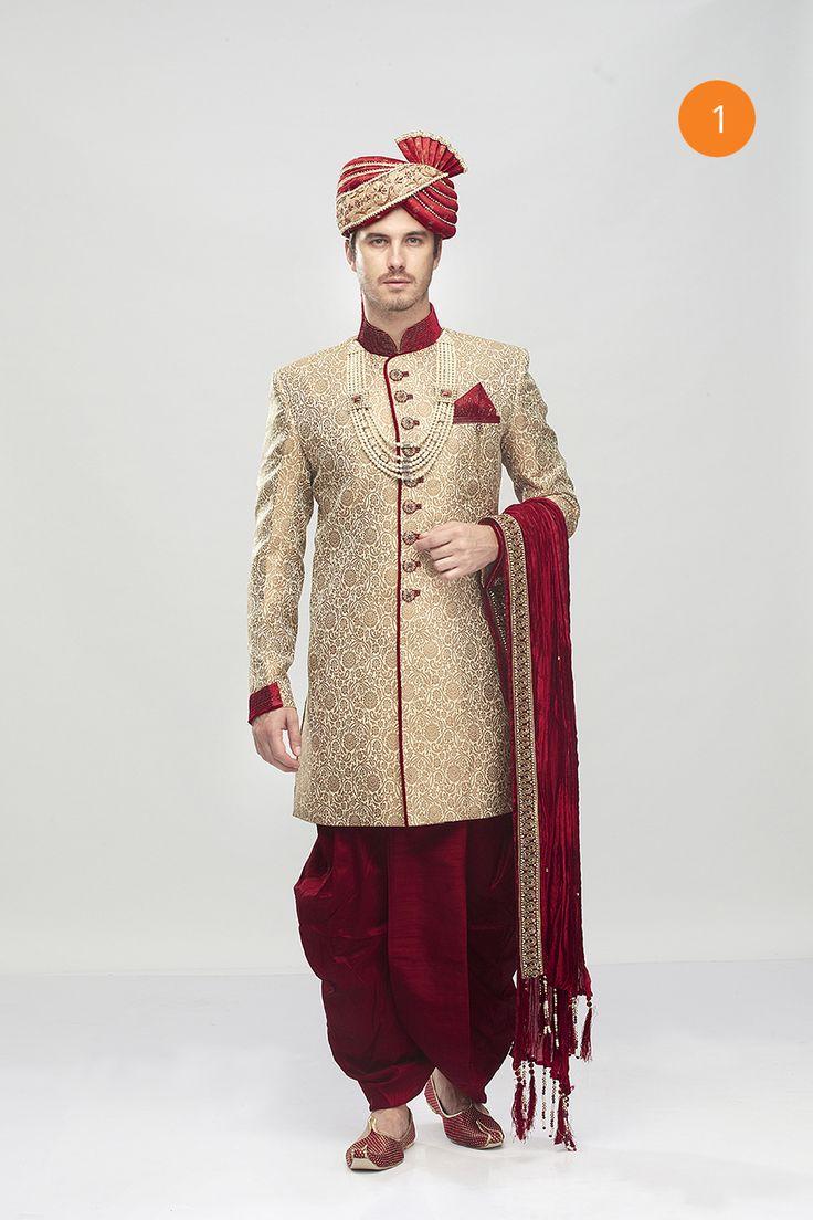 Manyavar Intricate Design Indo Western
