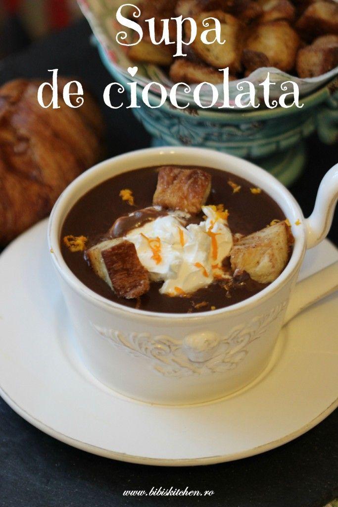 Supa de ciocolata   Bibi's Kitchen