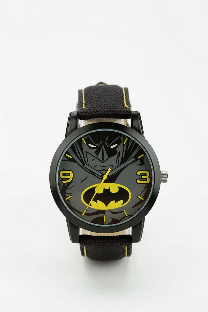 Awesome Batman Watch! I love watches.