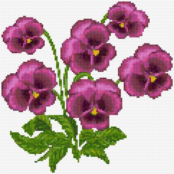 Cross Stitch | Pencies xstitch Chart | Design