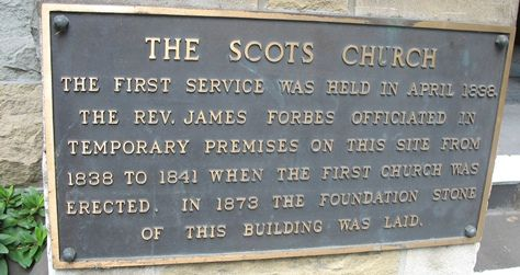 The Scots' Church, Melbourne