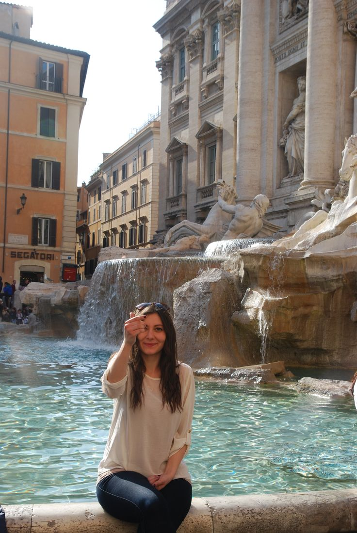 The best wishes.. Fontana Di Trevi in Roma,Italy