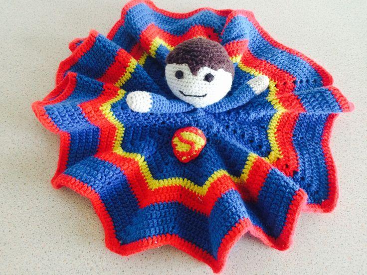 Superman lovey / security blanket