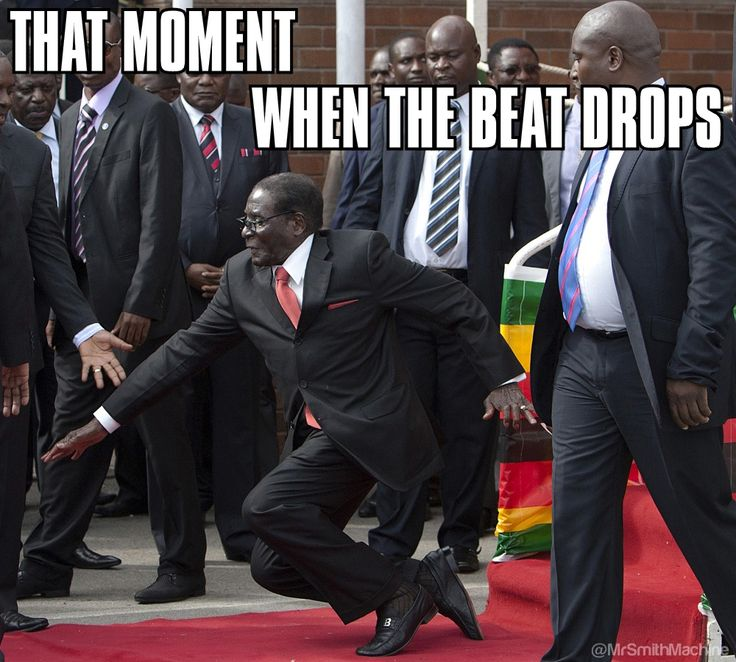 That Moment... When the Beat Drops