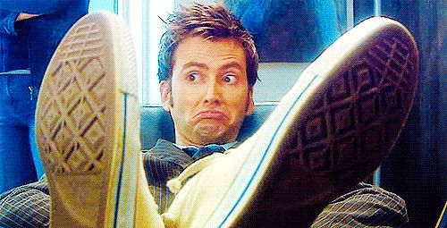 """When asked, """"Don't you think you've watched a little too much Doctor Who lately?"""""""