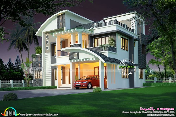 Rit Home Designed Semi Colonial Home With Drawing