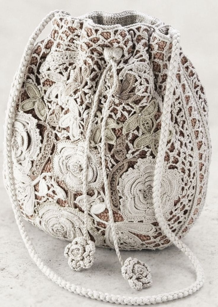Beautiful Irish crochet purse ~