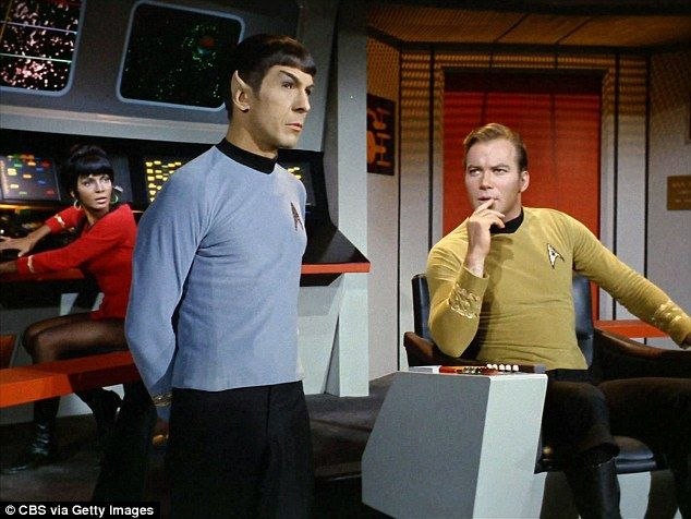 More galaxies to explore: A new Star Trek TV series is in the works. CBS is creating a show for their All Access site which is set to debut in 2017, according to a Monday report from Variety; here Leonard Nimoy as Spock and William Shatner as Captain Kirk are seen in a 1967 episode
