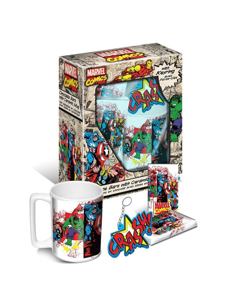 Marvel Mug & Chocolate Gift Set | very.co.uk