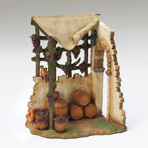 Fontanini Nativity Wine Maker Shop For 7.5 Scale