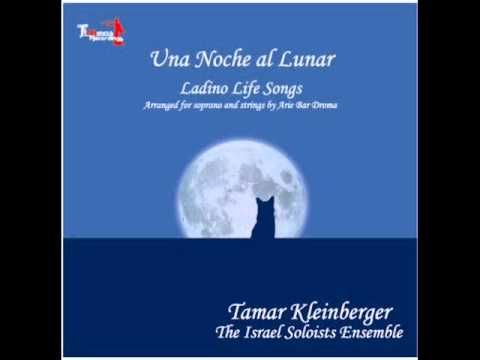 From my Ladino songs  in classical arrangements CD - Desde hoy la mi madre.