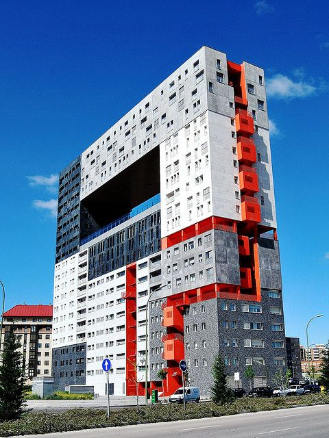 Edificio Mirador, Madrid, España.