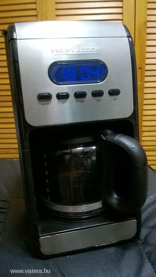 FILTERES KÁVÉFŐZŐ PROFICOOK KA1010 - 3990 Ft - Nézd meg Te is Vaterán - Kávéfőző, teafőző - http://www.vatera.hu/item/view/?cod=2098961405