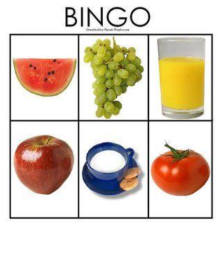 * Fruit: Bingo! 4-5