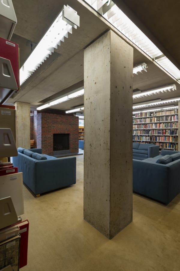 Louis i kahn xavier de jauréguiberry · library at phillips exeter academy
