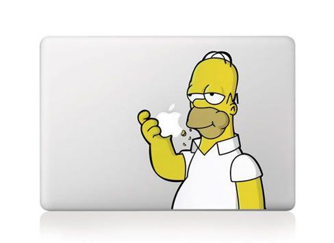 Stick ut från mängden med en Homer på din #MacBook.