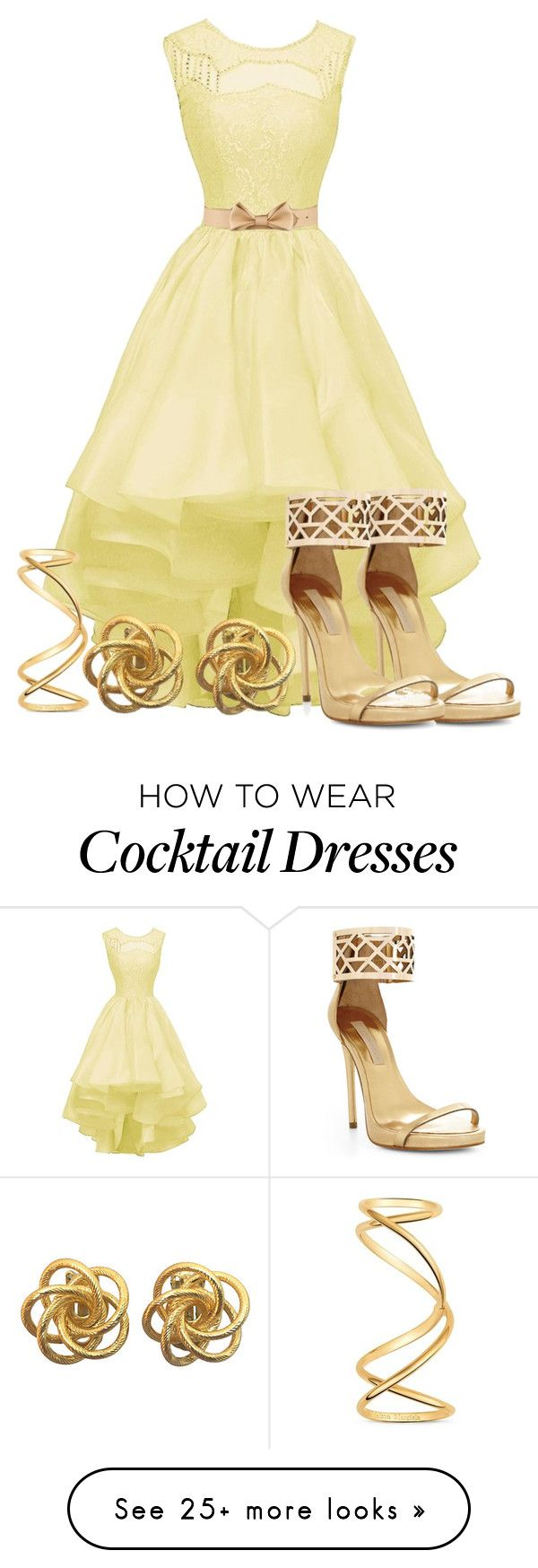 """""""Simple elegance"""" by xxxmakeawish on Polyvore featuring BCBGMAXAZRIA, RED Valentino and Maison Margiela"""