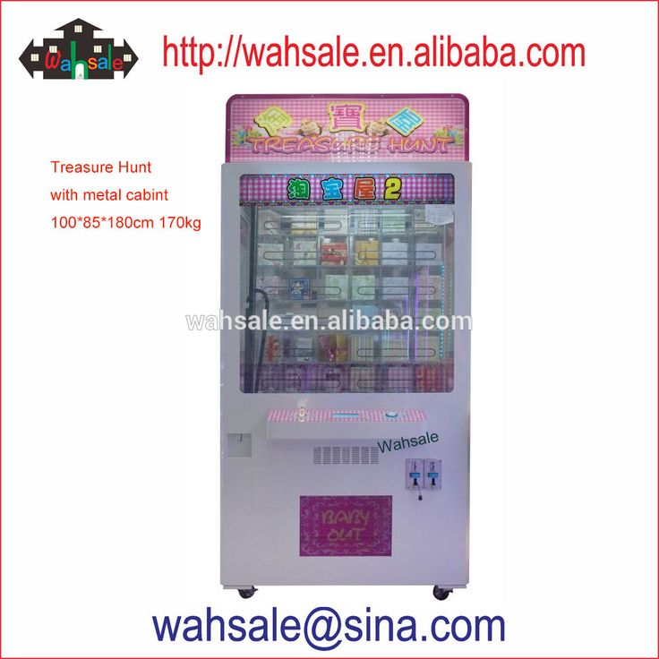 Coin pusher vending crane game machine for arcade game
