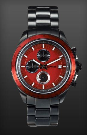 Holiday is on! I just found Chronograph Stainless Steel Bracelet Watch on the #EXPRESSLIFE Gift Guide: #ExpressHoliday o04/holiday-wish-list/http://express.com/giftguide